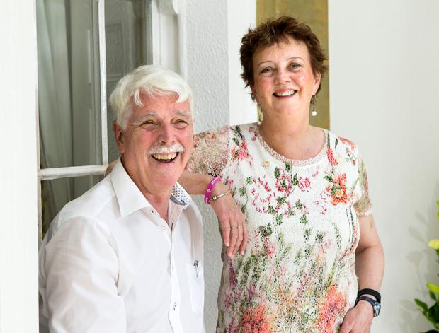 David and Grace Gerry are highlighting the problem of Foetal Alcohol Syndrome. Photo: Kyran O'Brien