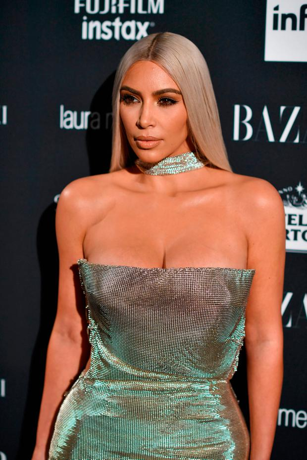Kim Kardashian attends Harper's BAZAAR Celebration of
