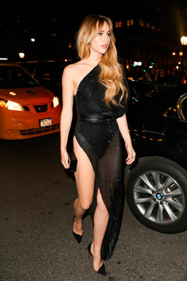 Model Suki Waterhouse is seen on September 8, 2017 in New York City. (Photo by Marc Piasecki/GC Images)
