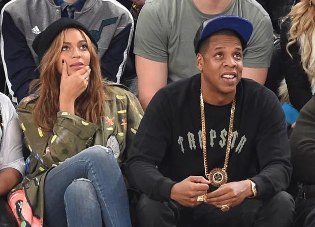 Beyonce and Jay Z are in Houston to meet the victims of Hurricane Harvey. (Photo: TIMOTHY A. CLARY/AFP/Getty Images)