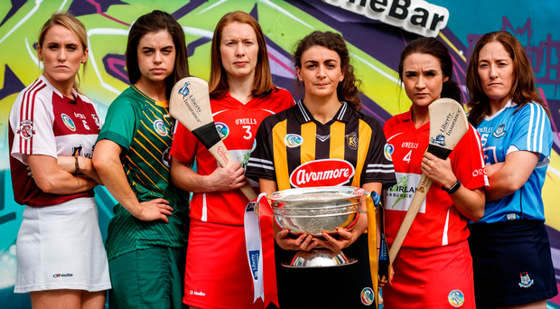 Fiona Leavy, Westmeath, (Junior), Claire Coffey, Meath (Intermediate), Rena Buckley, Cork (Senior), Anna Farrell, Kilkenny (Senior), Niamh Ni Chaoimh, Cork (Intermediate) and Emer Keenan, Dublin (Junior)