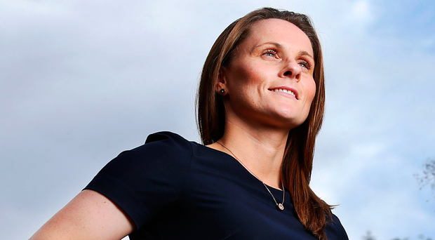 Aoife Murray: 'I never once recall my parents saying that I couldn't go training because the lads had to be brought. It was more a case of us all leaving a bit earlier so everyone could go.' Photo: Steve Humphreyson