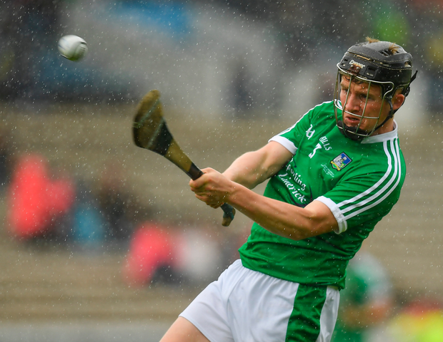 Peter Casey of Limerick during the Bord Gáis Energy GAA Hurling All-Ireland U21 Championship Final match between Kilkenny and Limerick at Semple Stadium in Thurles, Co Tipperary. Photo: Sportsfile