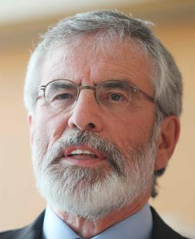 Information: Gerry Adams Photo: Leah Farrell/RollingNews.ie