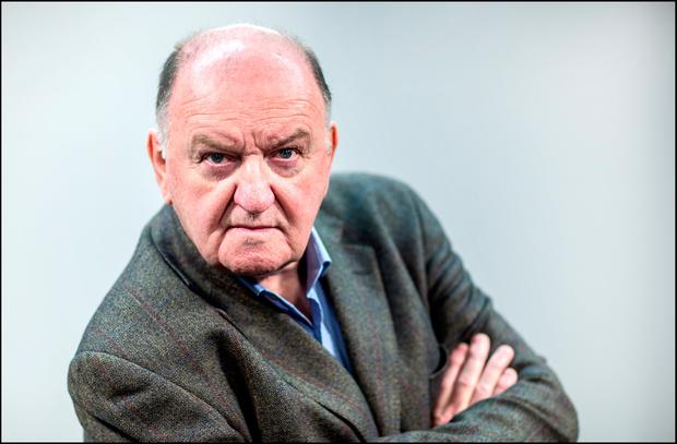 Newstalk show host George Hook Photo: David Conachy