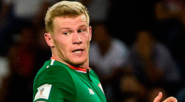 'James McClean doesn't have to be the hero all the time'. Photo: Sportsfile