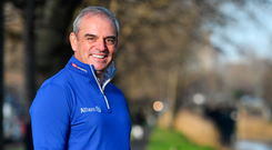 Paul McGinley: 'This can be a way of giving something back to the game in this country.' Photo: Sportsfile
