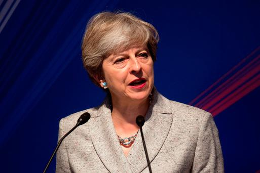 British Prime Minister Theresa May Photo: PA