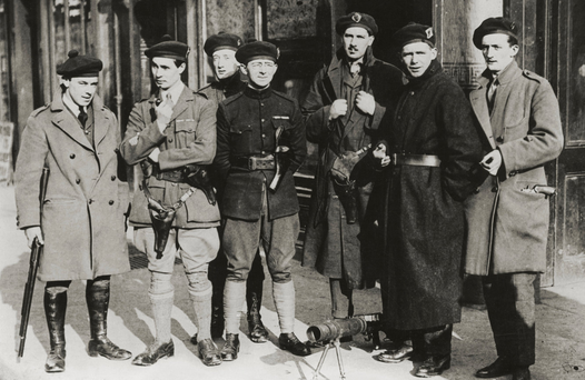 Black and Tans in Dublin