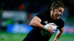 Barrett struggled from the tee against the Lions. Photo: Reuters/Nigel Marple