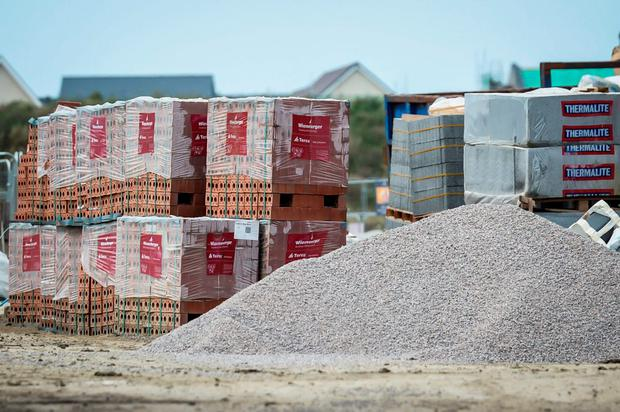 The rate of growth in the Irish construction sector slowed for a third consecutive month in August. Stock Image: PA
