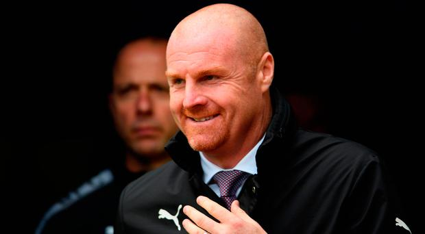 Burnley manager Sean Dyche. Photo by Laurence Griffiths/Getty Images