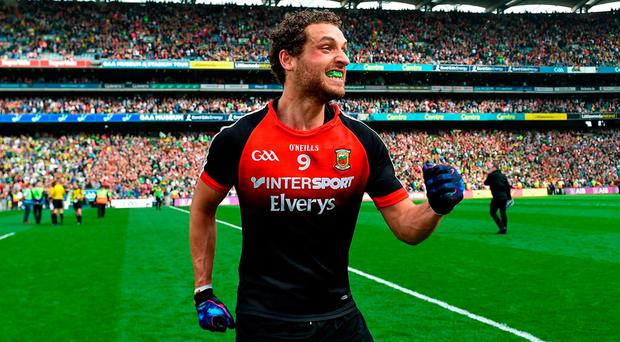 Tom Parsons has become a pivotal figure in the current Mayo team. Photo: Ramsey Cardy/Sportsfile