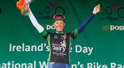 The Northamptonshire rider conquered the 90km course to secure victory in the NDC Points Classification. Pic: Lorraine O'Sullivan
