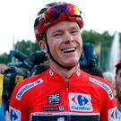 Froome is Britain's first ever winner in the Vuelta. Image: AP Photo/Francisco Seco