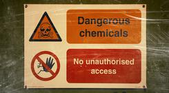The Health and Safety Authority (HSA) today launched the nationwide inspection campaign to see if products comply with the relevant EU chemical legislation, which is designed to improve chemical safety. Stock picture