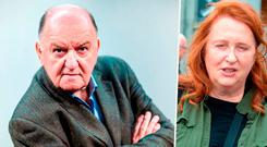 George Hook and singer Mary Coughlan