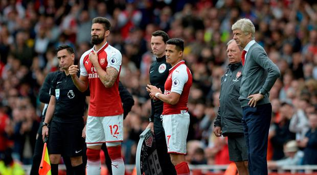 Wenger is prepared to use the full depth of his squad in the Europa League CREDIT: Action Images via Reuters/Alan Walter