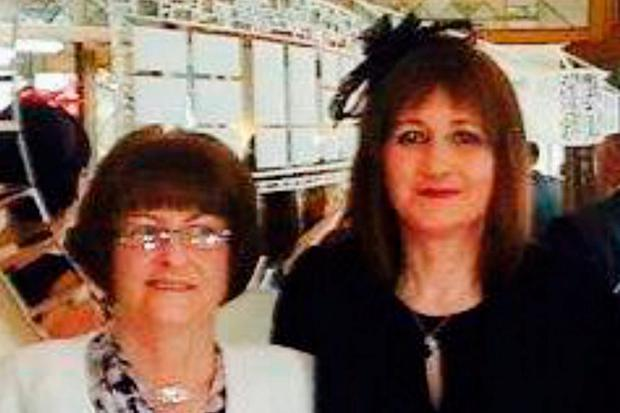 Road victims Mary Ann Wilson (left) and her daughter Marcella, who died in a road accident at Claremorris, Co Mayo