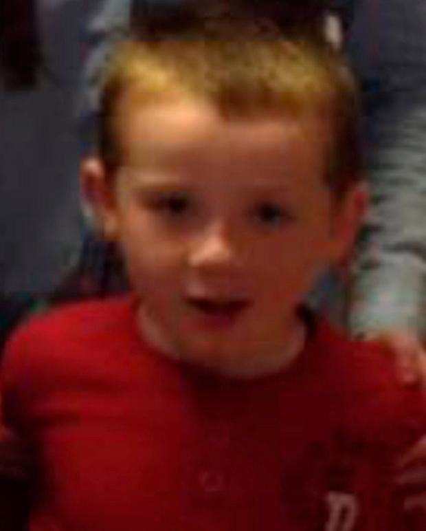 Seán Wilson (7), who died in yesterday's road accident near Claremorris, Co Mayo
