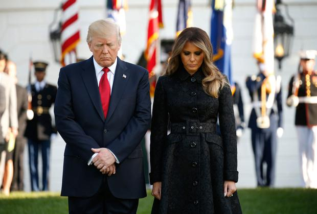 President Donald Trump and wife Melania. Photo: Kevin Lamarque/Reuters