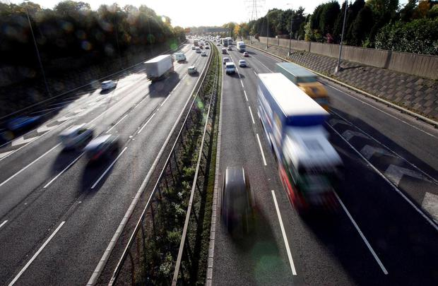 More guidance is needed about problems facing drivers on motorways. Photo: David Jones