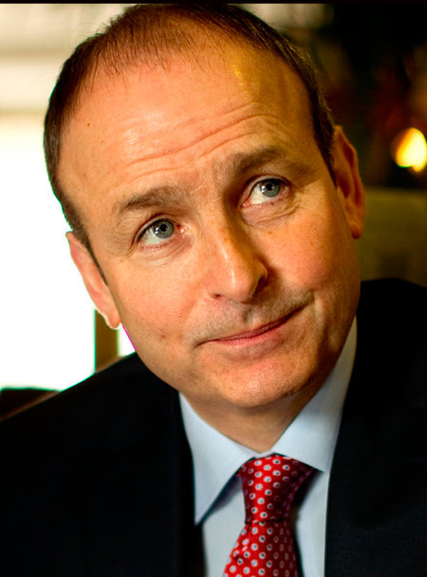 Micheal Martin Photo: Gerry Mooney