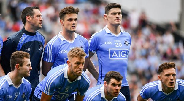 Dublin's Diarmuid Connolly, 20, started from the bench in the semi-final win over Tyrone