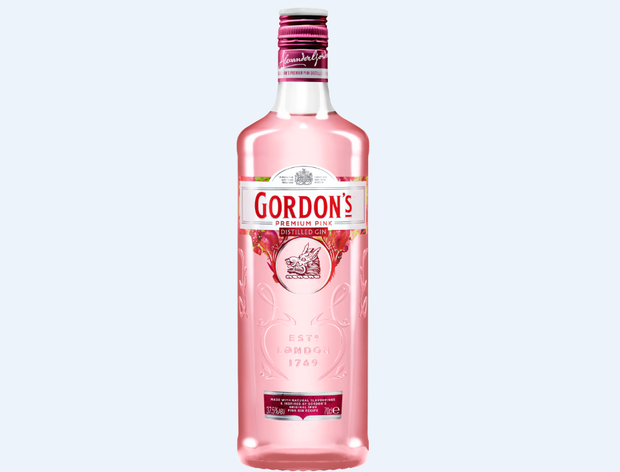Gordon's new Premium Pink Distilled Gin