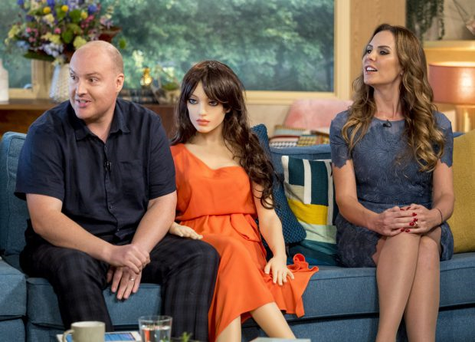 This Morning viewers left disturbed by Samantha the robot