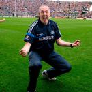 Pat Gilroy celebrates at the final whistle after Dublin defeated Kerry in the 2011 All-Ireland final. Photo: David Maher / Sportsfile