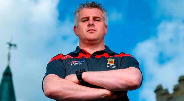 Mayo manager Stephen Rochford has come in for plenty of scrutiny since taking the job 21 months ago. Photo by David Fitzgerald/Sportsfile