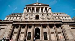 The Bank of England Photo: PA