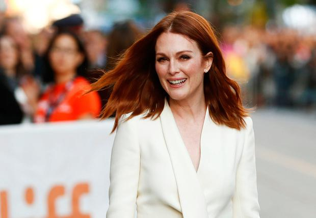 Actor Julianne Moore arrives on the red carpet for the film