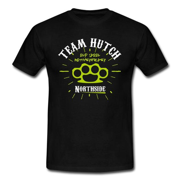 Team Hutch merchandise has the words
