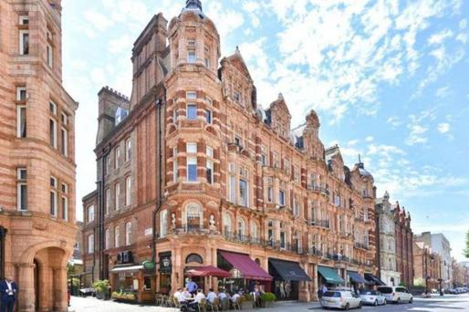 Mayfair, one of the wealthiest areas in London
