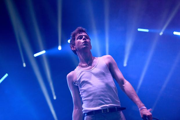 LOS ANGELES, CA - JULY 22: Perfume Genius performs onstage during day 2 of FYF Fest 2017 at Exposition Park on July 22, 2017 in Los Angeles, California. (Photo by Emma McIntyre/Getty Images for FYF)