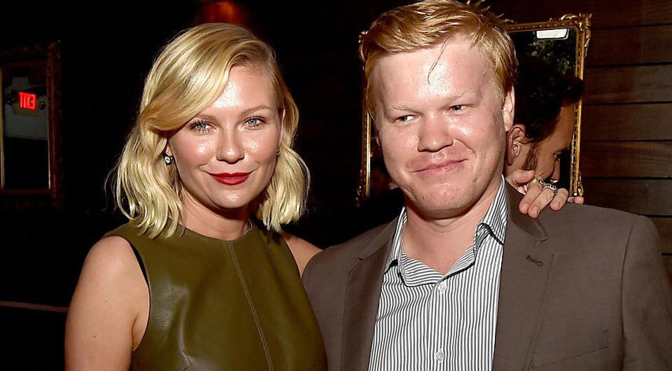 Kirsten Dunst and Jesse Plemons at the after party for the premiere of Fargo Season 2 | Photo by Kevin Winter/Getty Images