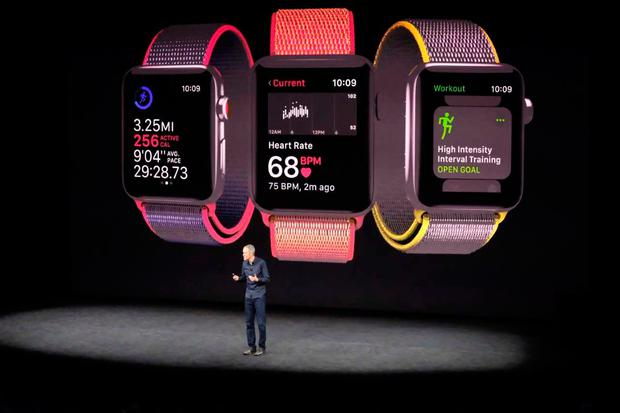 Apple's new watch lets you make calls, get messages and