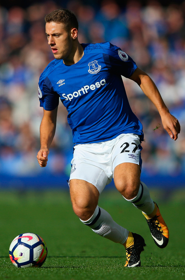 Nikola Vlasic of Everton. Photo: Getty Images