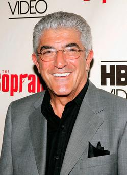 Actor Frank Vincent has died at 78 years old of complications after heart surgery. (Photo by Paul Hawthorne/Getty Images)