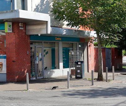 The Centra convenience shop on Coultry Road, Ballymun