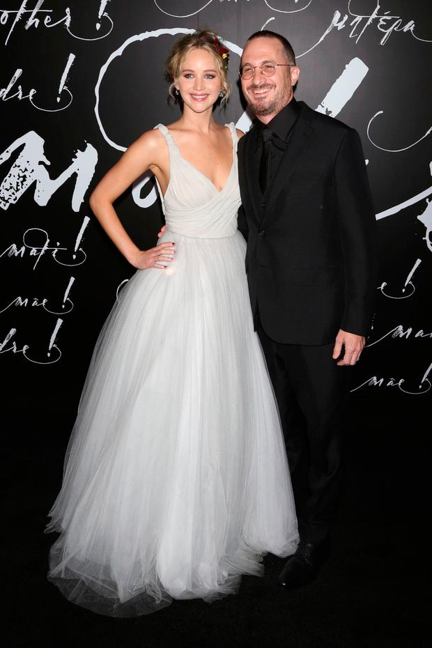 Jennifer Lawrence and Darren Aronofksy finally make red carpet debut ...