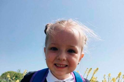 Maja Glowacka (5) who died earlier this week from a suspected infection just days after starting school