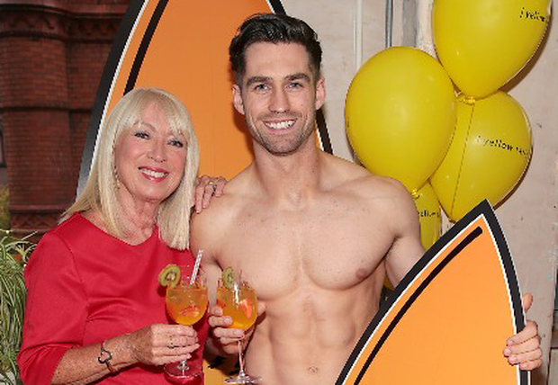 Anne Doyle and Niall Matthews at the Yellow Tail Wine tasting event at Drury Buildings,Dublin. Pic :Brian McEvoy