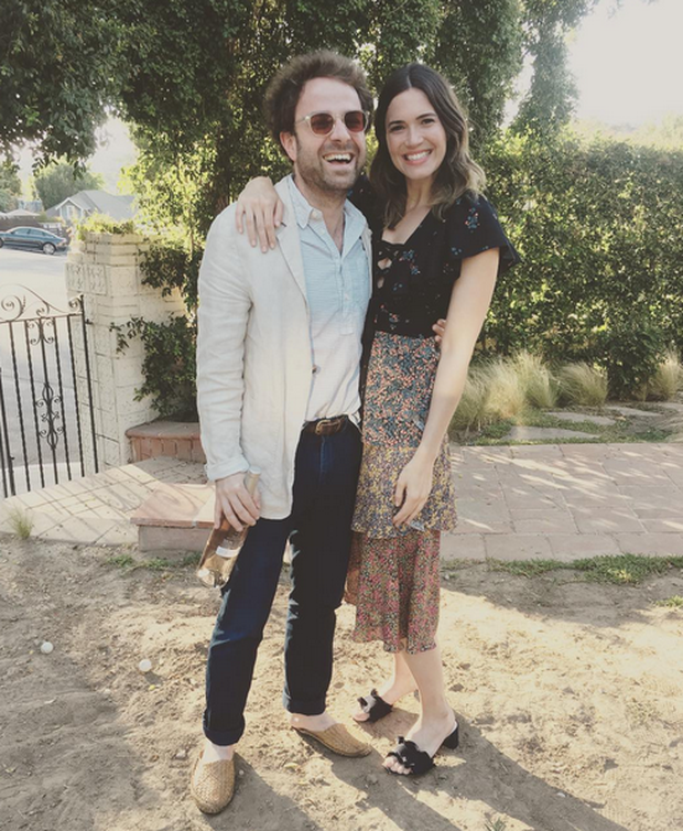 Mandy Moore and Taylor Goldsmith. Image: Instagram