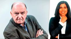 George Hook and Dil Wickremasinghe