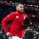1 July 2017; Sean OBrien of the British & Irish Lions runs out ahead of the Second Test match between New Zealand All Blacks and the British & Irish Lions at Westpac Stadium in Wellington, New Zealand. Photo by Stephen McCarthy/Sportsfile