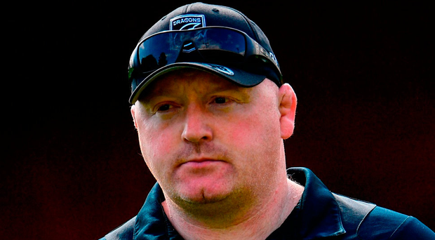 Dragons head coach Bernard Jackman. Photo: Ramsey Cardy/Sportsfile