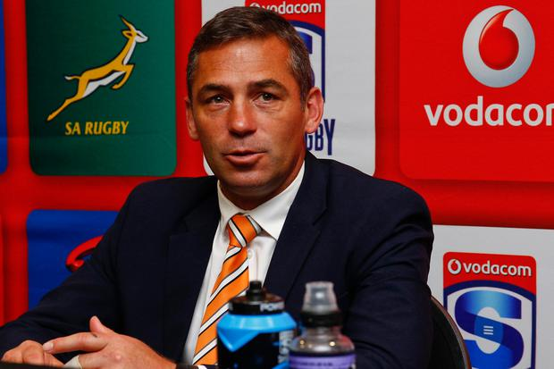 Cheetahs head coach Franco Smith. Photo: GETTY